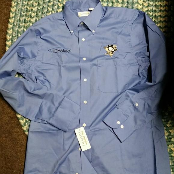 f220b7011fa9 Shirts | Brand New Pittsburgh Penguins Dress Shirt | Poshmark